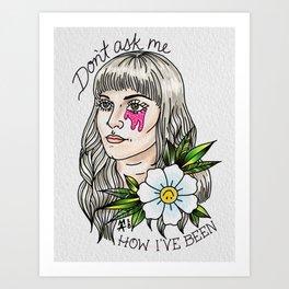 Fake Happy Art Print
