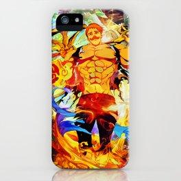 Proud lion iPhone Case