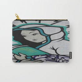 Graffiti Mother Mary   Carry-All Pouch