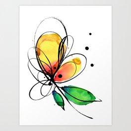 Ecstasy Bloom No.8 by Kathy Morton Stanion Art Print
