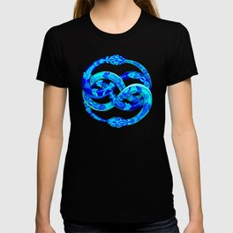 Blue Ouroboros T-shirt