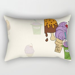 IceCream Summer Rectangular Pillow