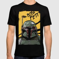 Fett LARGE Black Mens Fitted Tee