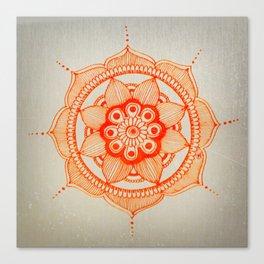 Mandala Creation #4 Canvas Print