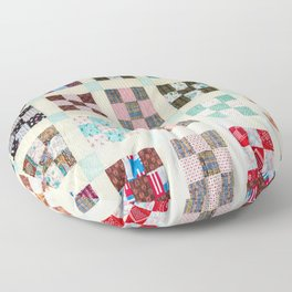 Large Quilt Floor Pillow