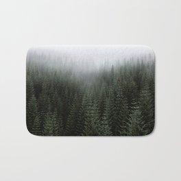 Dizzying Misty Forest Bath Mat