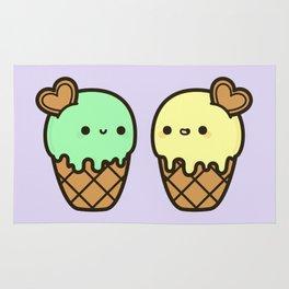 Ice cream love Rug