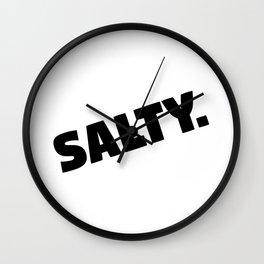 Salty. Wall Clock