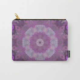 Pink Kaleidoscope 4 Carry-All Pouch