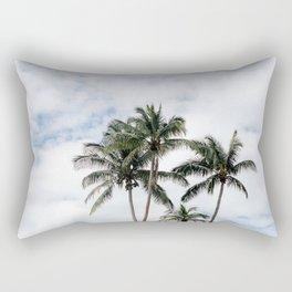 Dancing Palms Rectangular Pillow
