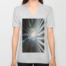 Spinning Star Unisex V-Neck