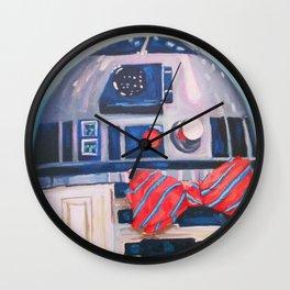 Bow2-Tie2 Wall Clock