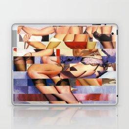 Glitch Pin-Up Redux: Taylor & Tiffany Laptop & iPad Skin