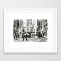 peggy carter Framed Art Prints featuring Peggy by min1919