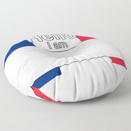 Hello I am from Martinique Floor Pillow