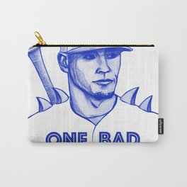 Javier Baez: One Bad Hombre Carry-All Pouch