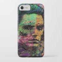 christopher walken iPhone & iPod Cases featuring Walken Around Town by brett66