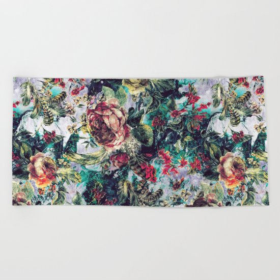 SECRET HEAVEN II Beach Towel