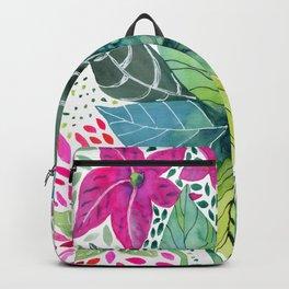 Leafy Tropical Backpack
