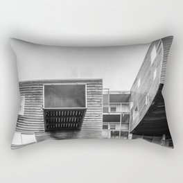 Building in Amsterdam Rectangular Pillow