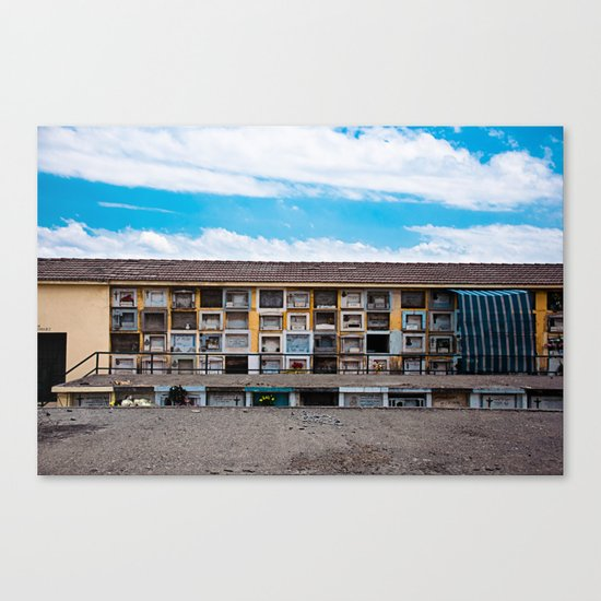 Rest in Peace#3 Canvas Print