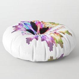 Amelia Island gift tie dye watercolor  Floor Pillow
