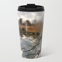 Cloudy day in the Colorado Foothills Travel Mug