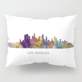 Los Angeles City Skyline HQ v1 Pillow Sham