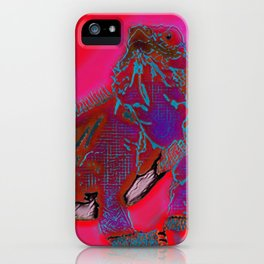 Hot Goanna iPhone Case