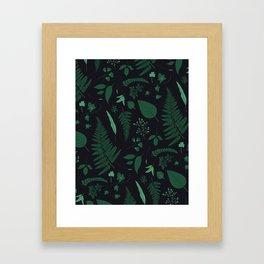 Nocturne Botanical Framed Art Print