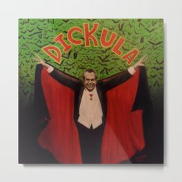 Count Dickula Metal Print