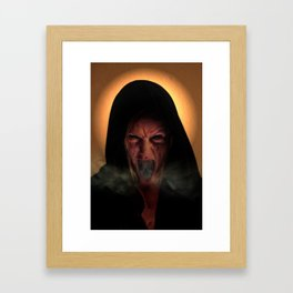 Unholy Mother Framed Art Print
