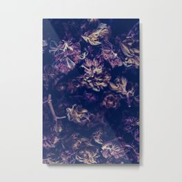 A macro photo of a bunch of cannabis kush Metal Print