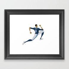 Marcus Mariota Framed Art Print