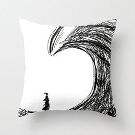 You can swim Throw Pillow