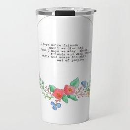 Best Ghost Friends Travel Mug