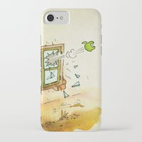 apple iPhone & iPod Cases featuring Apple! by Pepan