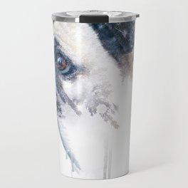 Pug Forest Travel Mug