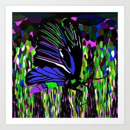 Butterfly Night Art Print