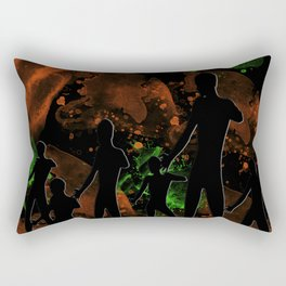 Landing Party Rectangular Pillow