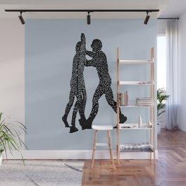 Molecule Man Wall Mural