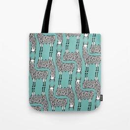 Llama Pattern Tote Bag