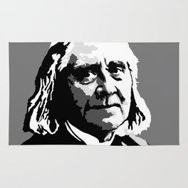 Franz Liszt (1811-1886) in 1886 (digital 1) Rug