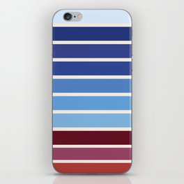 The colors of - Ponyo iPhone Skin