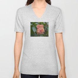 Tropical flower Unisex V-Neck