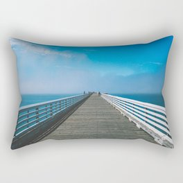 Boardwalking Rectangular Pillow