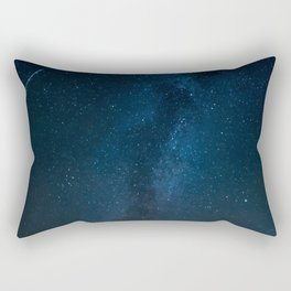 Night Sky Picture Rectangular Pillow