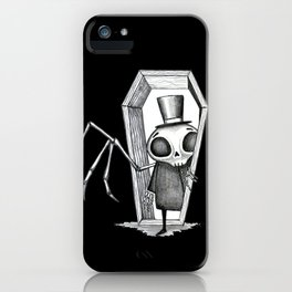 Skeleton Man iPhone Case