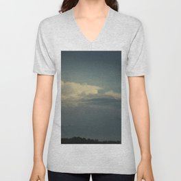 Clouds Above the Trees Unisex V-Neck