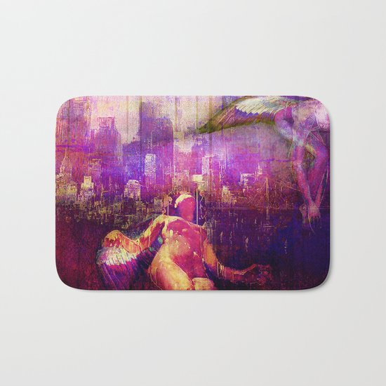 The angels of the city Bath Mat